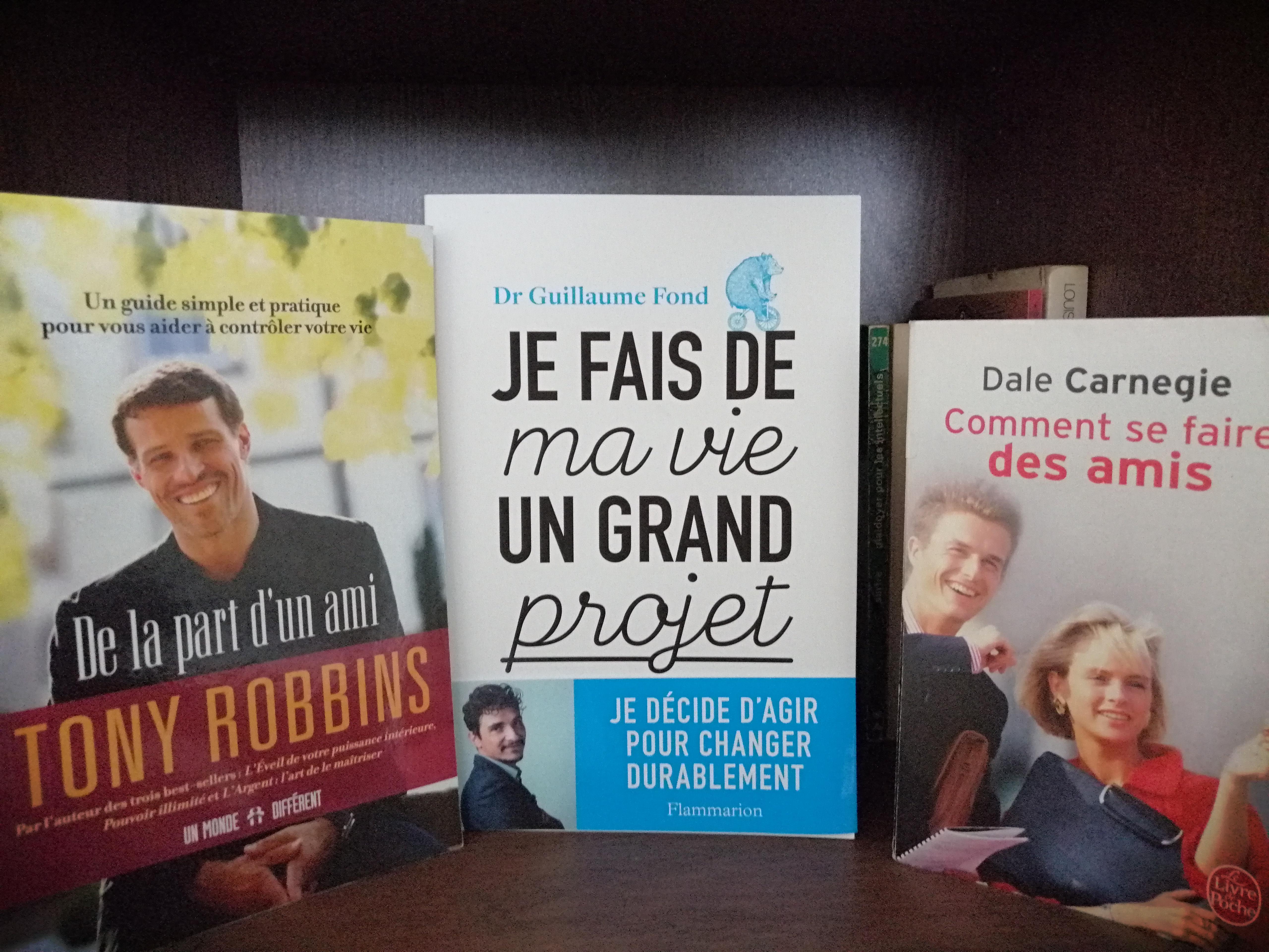 Les 3 livres qui changent la vie